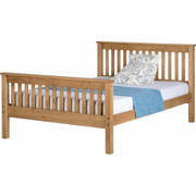 Monaco 4'6'' Bed High Foot End