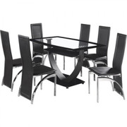 Hanley Dining Set-Black