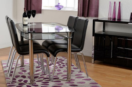 Harlequin 4' Dining Set