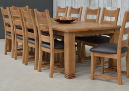 Danube Dining Table Set With 10 Danube Dining Chairs(260cm)