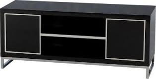 Charisma 2 Door 1 Shelf Flat Screen TV Unit - Black