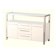 Charisma 2 Door 3 Drawer Sideboard- White