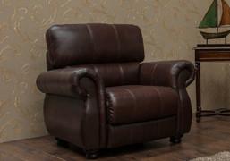 Ascot 1 Seater-Dark Brown