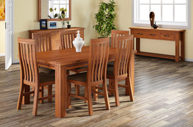 Tamworth Accacia Dining Set With 6 Chairs(150cm)
