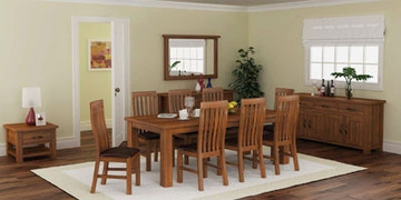 Tamworth Accacia Dining Set With 8 Chairs(180 cm)