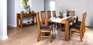 Bexley Small Fixed Set With 8 Chair