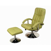Lexus TV Chair & Stool-Linen Green