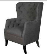 Fulham Armchairs - Charcoal