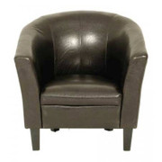 Colby Tub Chair-Brown