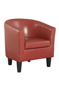 Colby Tub Chair-Red