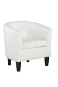 Colby Tub Chair-White