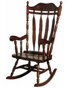 Jefferson Solid Wood Cherry Rocker
