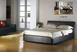 Corsica Black 4'6'' Bed
