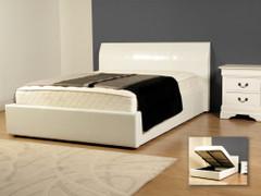 Corsica White 4'6'' Bed