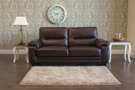 Baker 3 Seater-Chestnut