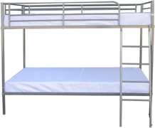 Brandon 3' Bunk Bed-Silver