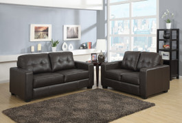 The Rose is a contemporary and stylish modular sofa with deep filled back cushions. Minimal side arms and padded seating make this sofa a dream to relax on in any setting. Available in Black, Chocolate Brown or Red