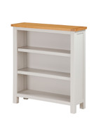 Hartford Painted Oak Low Bookcase