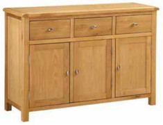 Empire Oak 3 Door Sideboard