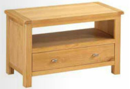 Empire Oak Small TV Unit