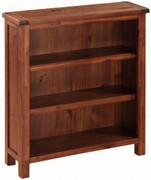 Hartford Acacia Low Bookcase