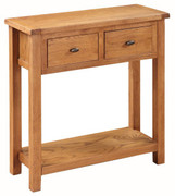 Hartford Country Oak Large Hall Table