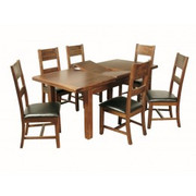 Roscrea 6x3 Butterfly Extension Dining Set