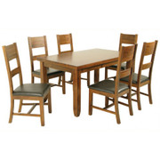Roscrea 5' Dining Set [Fixed Top]