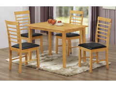 Hanover Light 1x4 Dining Table