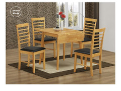 Hanover Light Square Drop Leaf Dining Set