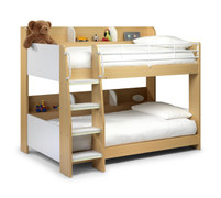 Domino Bunk Bed-Maple