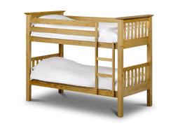 Barcelona Bunk Bed-Pine