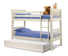 Barcelona Bunk Bed-White