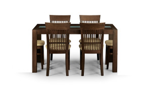 Santiago Dining Set With 4 Chairs