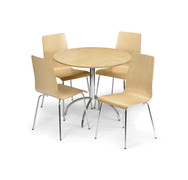 Mandy Dining Set-Maple