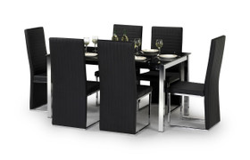 Tempo Dining Set With 4 Chairs