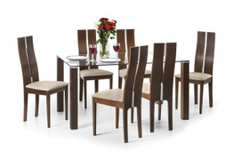 Cayman Dining Set With 4 Dining Chairs