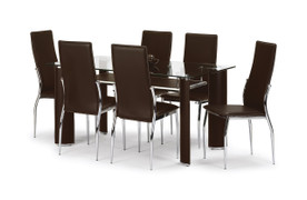 Boston Dining Set With 4 Chairs