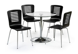 Kudos Round Dining Set With 4 Chairs