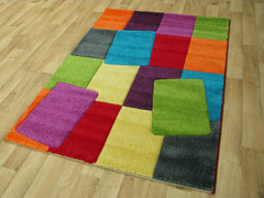 Candy Collection Rug-Blocks (80x150cm)
