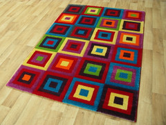 Candy Collection Rug-Squares (80x150cm)