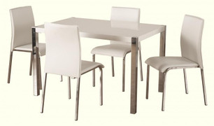 Charisma 4' Dining Set-White