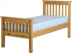Monaco 3' Bed High Foot End-Antique Pine