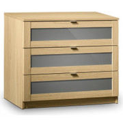 Strada 3 Drawer Chest