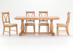 Carmen Extending Dining Set with 6 Chairs(180/230 cm)