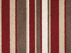 Stainsafe Noble Stripe Saxony Carpet- Devilment 18