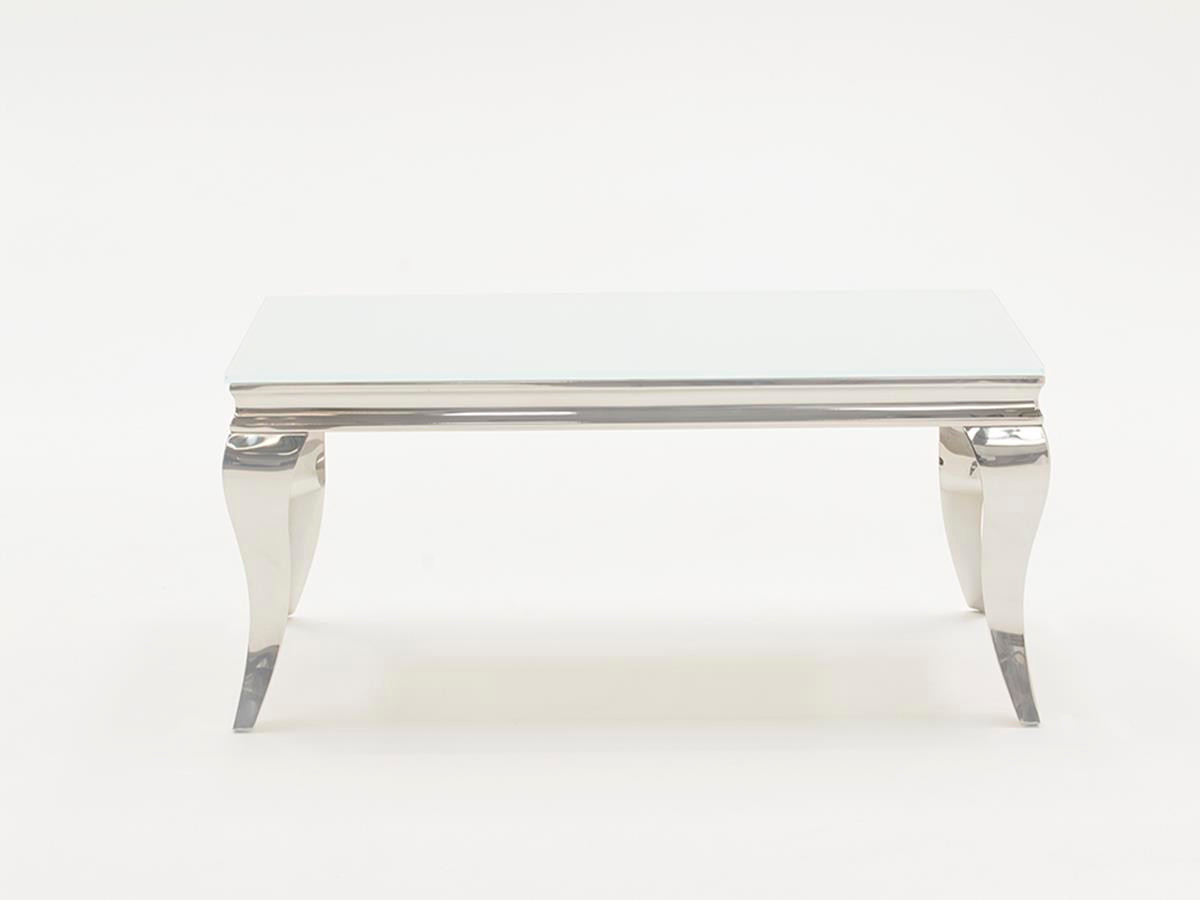 ... Louis Coffee Table (Large)-White. Image 1. Loading zoom