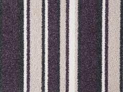 Stainsafe Moorland Stripe Carpet- Plum Lines 55