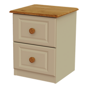 Annagh Ivory 2 Deep Drawer Locker
