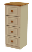 Annagh Ivory 4 Deep Drawer Locker